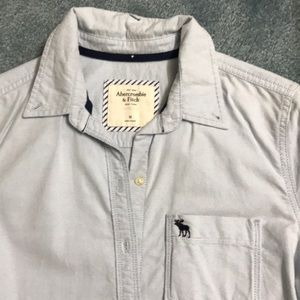 Excellent condition A&F button up
